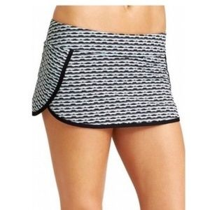 Athleta Small Kata Waveline Swim Skirt & Briefs